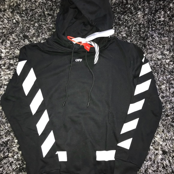 Off-White Other - Men's black off-white hoodie